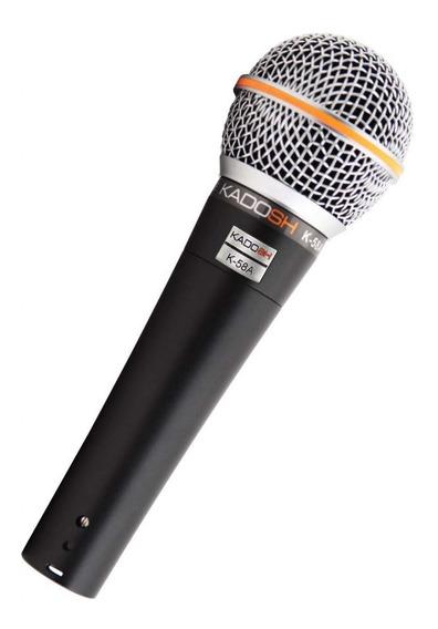 Microfone Vocal Com Fio K-58a - Kadosh