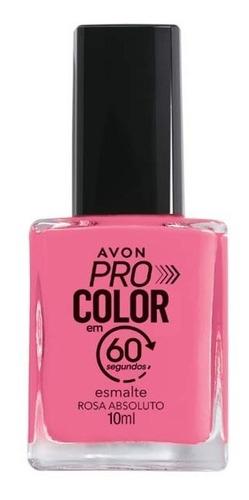 Imagem 1 de 1 de Avon - Pro Color 60 Segundos - Esmalte - Rosa Absoluto