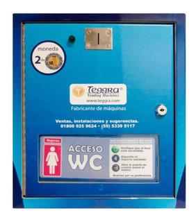 Control De Acceso De Puerta Para Sanitario - Maquina Vending