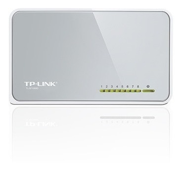 Switch Tp-link Sf1008 Puertos De 10/100mbps