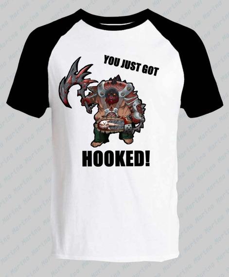 Remera Dota 2 Pudge You Just Got Hooked!