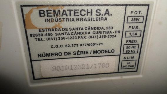 Lote Placa E Fonte Para Impressora Matricial Bematech Mp-20
