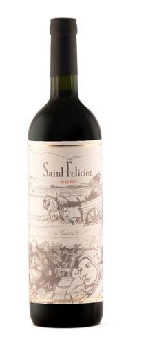 Vino Saint Felicien Malbec  750 Ml