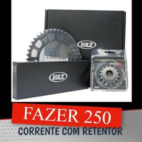 Kit Relação Fazer/250 Yamaha Com Retentor Aço 1045 Fazer 250