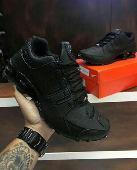 Nike Shox Nz Preto