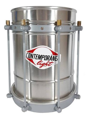 Cuíca Contemporânea Alumínio 08pol Pele Couro 116lt