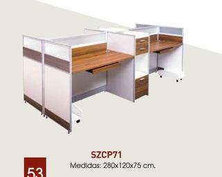Mueble Modular Para 4 Personas