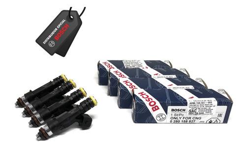 Jogo 4 Bicos 160 Lbs/h Bosch Original Alta Impedancia