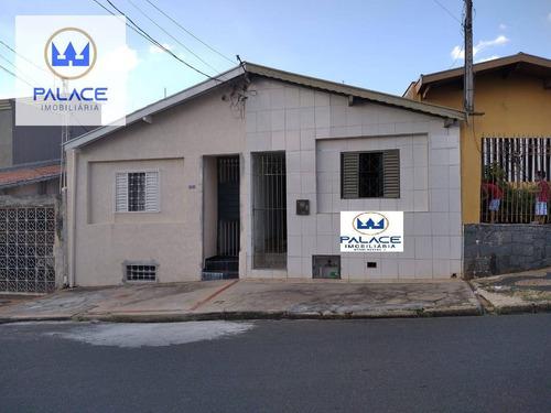 Casa Com 1 Dormitório, 80 M² - Venda Por R$ 160.000,00 Ou Aluguel Por R$ 800,00/mês - Alto - Piracicaba/sp - Ca0860