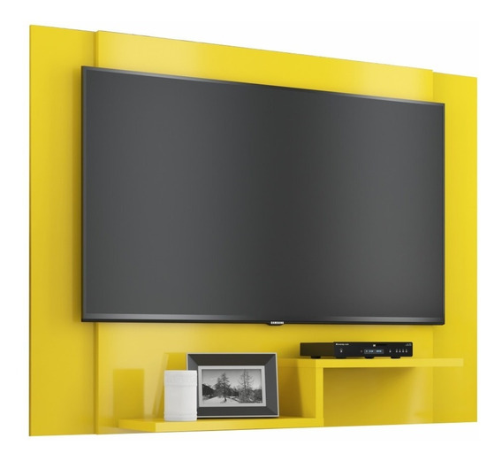 Painel Rack Home Para Tv Enzo Plus Até 48 Polegadas 6 Cores