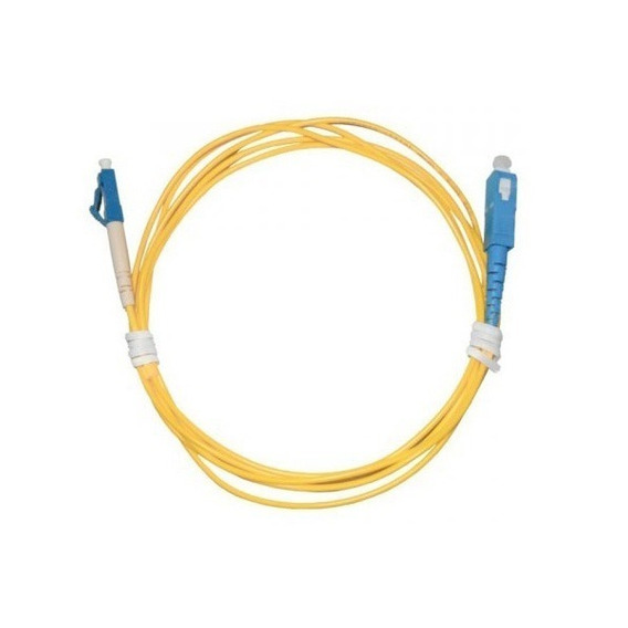 Patch Cord Fibra Óptica Sc-upc / Lc-upc Sm Simplex 3.0mm 2m