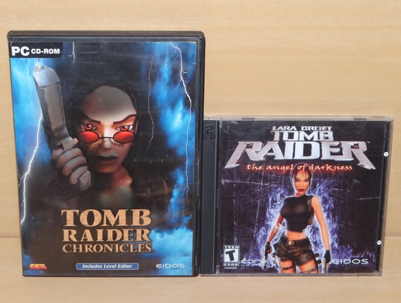 Tomb Raider Chronicles + Tr - The Angel Of Darkness - Pc