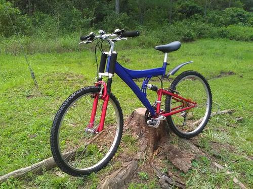 Bicicleta R26 Suspension Delantera Doble Cristo.