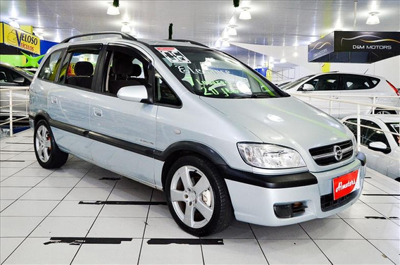 Chevrolet Zafira 2.0 Elegance Flex 2006 Ac. Troca E Financio