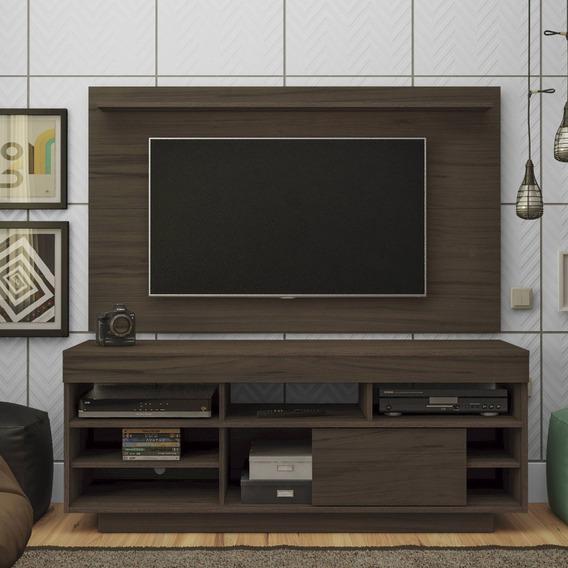 Rack Com Painel Para Tv Até 47 Polegadas 2 Cc