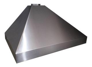 Campana Cocina Industrial De Acero Inox De 90cm