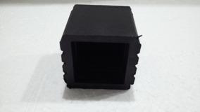 Ponteira 40x40 Quadrada Externa Kit Com 10pç Borracha Pvc