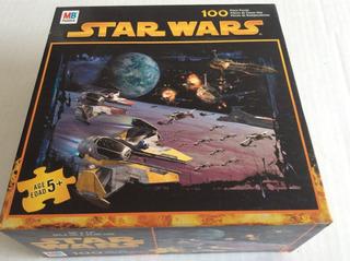 Star Wars Space Battle - Rompecabezas Mb 100 Piezas