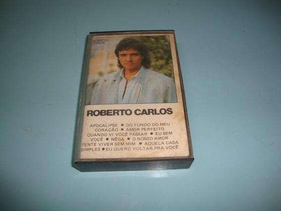 Fita Cassete Do Cantor Roberto Carlos