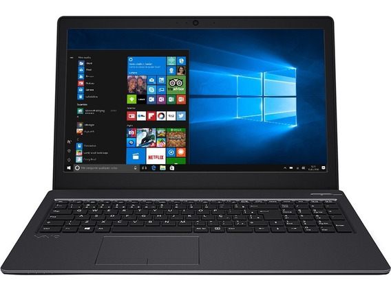 Notebook Vaio Fit Core I7-7500u 8gb 512ssd+2tb Tela 15,6 Hd