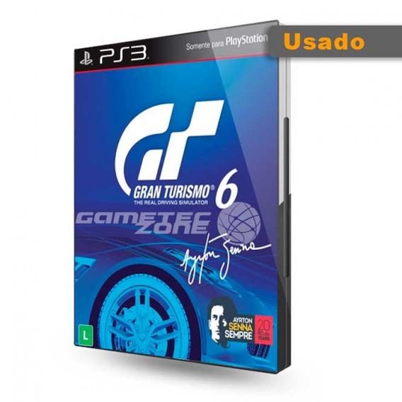 Usado Jogo Ps3 Gran Turismo 6 - Sony