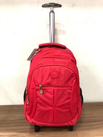 Mochila Notebook Com Rodas Viagem Ou Escolar Frete Grátis