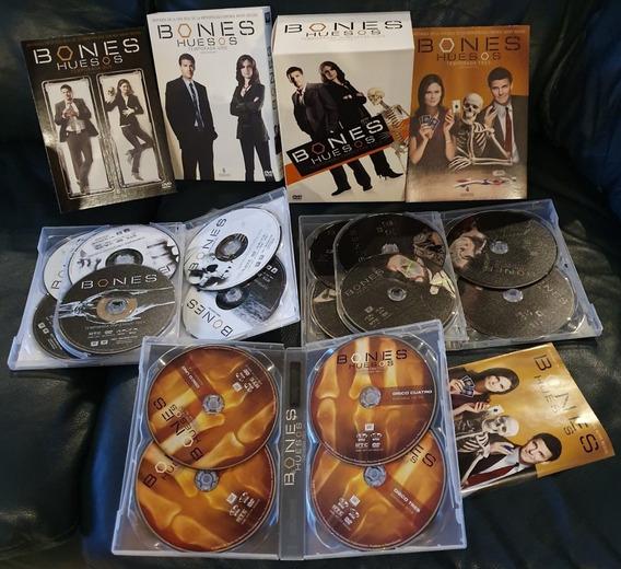 Bones Huesos Temporadas 1 2 3 Dvd Casi Nuevos, Envío Gratis