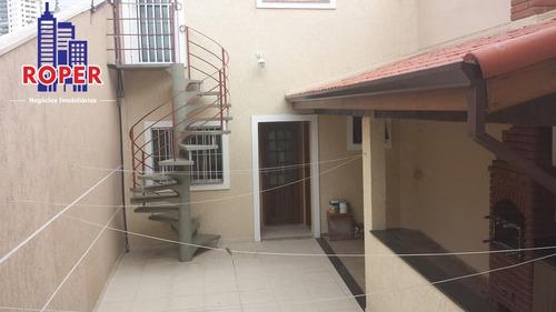 Casa Sobrado Com 3 Dorms, Suíte, Closet E Edícula! Imóvel Novo E Desocupado Venda Na Mooca, São Paulo.. - Ca00082 - 34843105