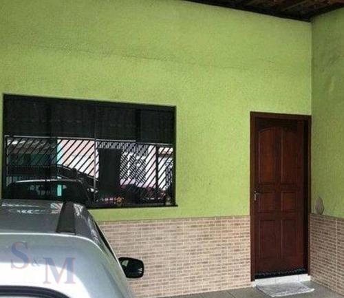 Imagem 1 de 5 de Casa Com 2 Dormitórios À Venda, 118 M² Por R$ 400.000,00 - Parque Capuava - Santo André/sp - Ca0886