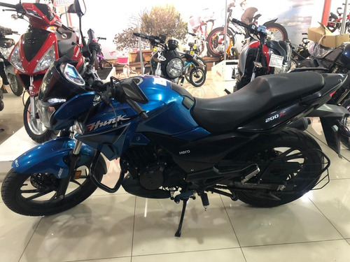 Hero Hunk 200 R Abs Moto Calle Street Usada Impecable
