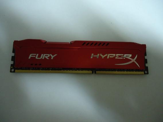 Memória Ddr3 Hyperx Fury 8gb 1866mhz Vermelha Perfeitas 100%