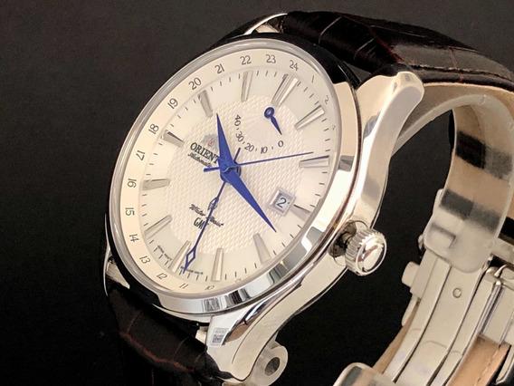 Relógio Orient Polaris Gmt - Dial Branco