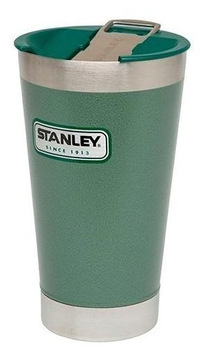 Vaso Térmico 473ml X2 Vacuum Con Destapador Stanley 01704
