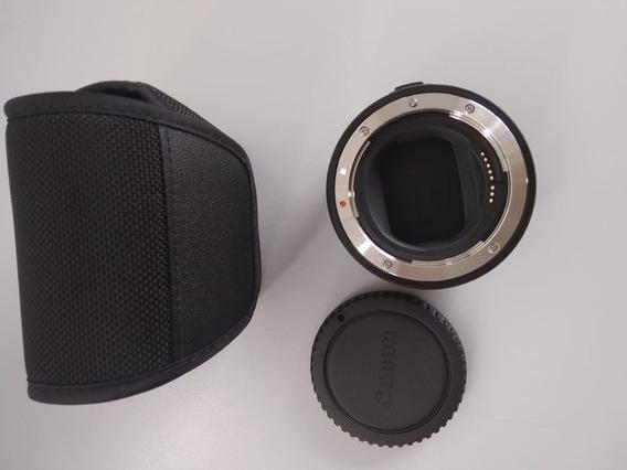 Camera Canon Eos R Com Adaptador