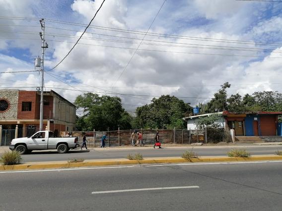 Terreno Avenida Principal Fundación Para Edificio O Galpón.