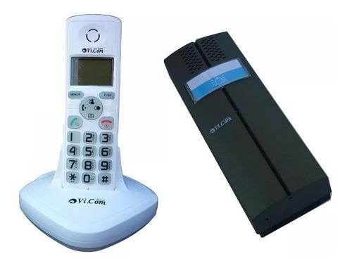 Portero Electrico Y Telefono Inalambrico Vi.com 3622f Commax