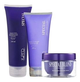 Kit Special Silver Shampoo + Condicionador + Máscara - K.pro