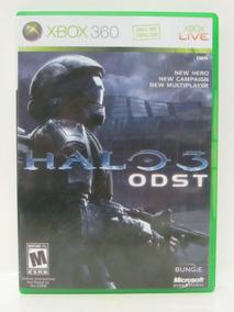 Halo 3 Odst - Game Xbox 360 Original Americano Mídia Física