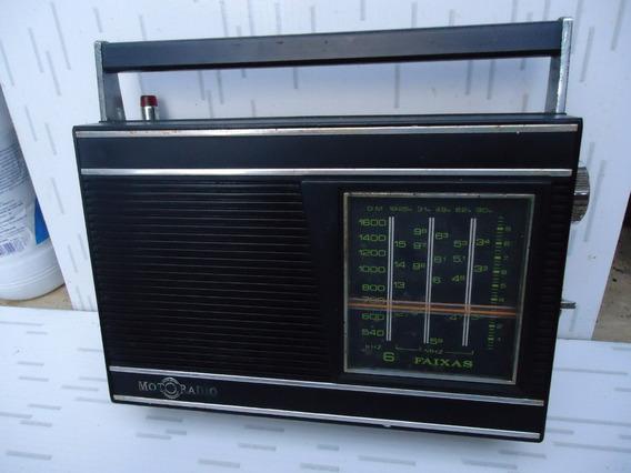 Radio Moto Radio De 6 Faixas Funcionando