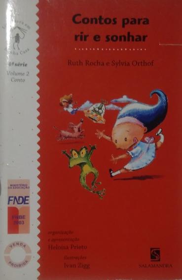 Contos Para Rir E Sonhar Volume 2 Ruth Rocha E Sylvia Orthof