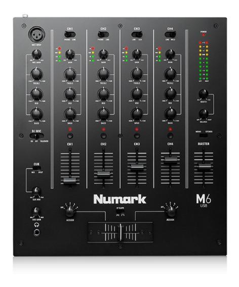 Numark M6 Mixer (1.000,00 P.retirada) - Mundo Dos Djs