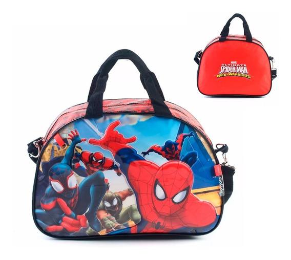 Bolso Spiderman Original Oval Chico - Wa62656