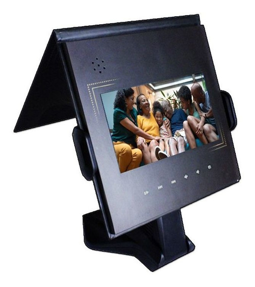 Porta Retrato Digital Tela 7 Polegadas Usb C/ Suporte