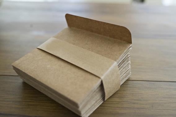 Envelope Para Cd Ou Dvd Em Papel Kraft 30 Unidades