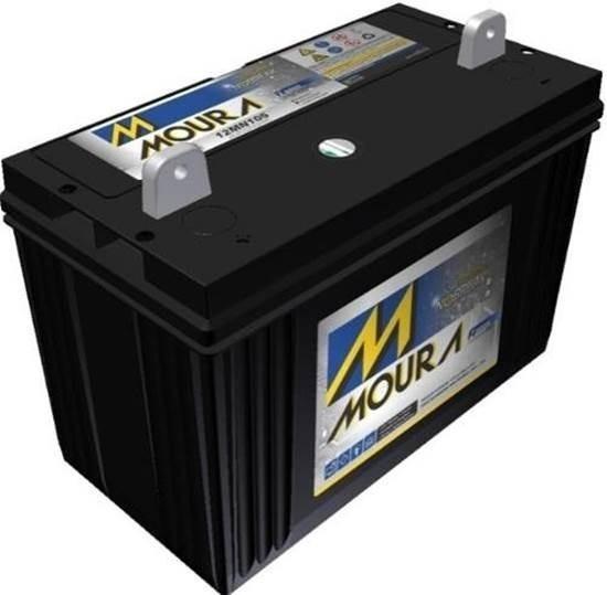 Bateria Moura Estacionária 105ah Iso14001/9001 12mn105