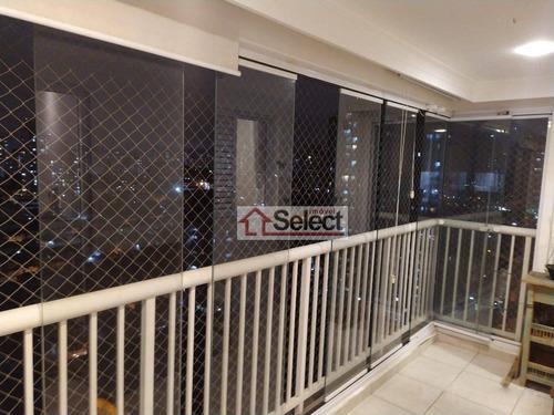Imagem 1 de 30 de Apartamento Com 3 Dormitórios À Venda, 75 M² Por R$ 720.000,00 - Tatuapé - São Paulo/sp - Ap1235