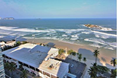 Cobertura Residencial À Venda - Praia Das Pitangueiras - Guarujá. - Co0207