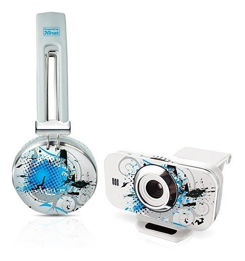 Kit Fone De Ouvido Urban Revolt Headset + Webcam - Evening C