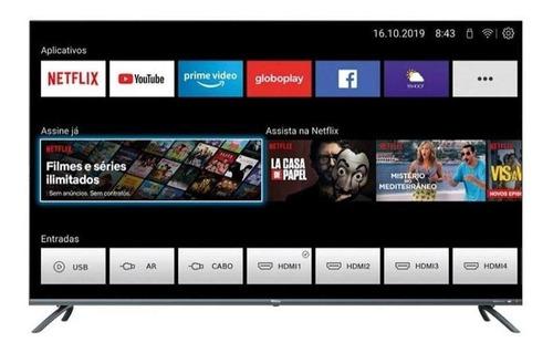 """Tv 55"""" Led Philco 4k - Ultra Hd Smart - Ptv55g70sblsg"""
