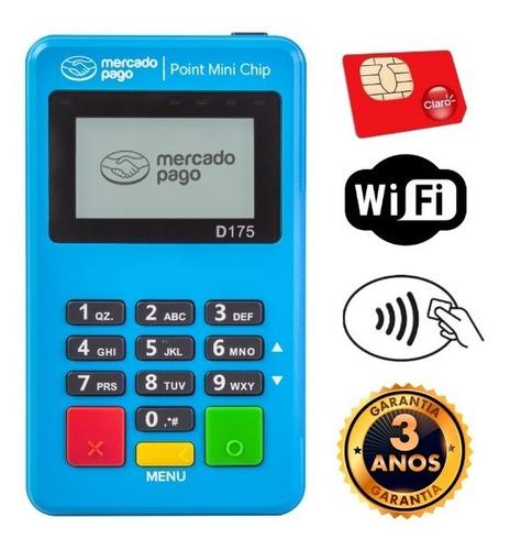 Imagem 1 de 7 de Point Mini Chip A Maquininha De Cartão Do Mercado Pago